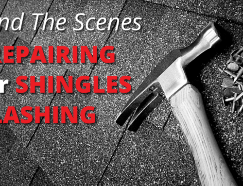 Behind The Scenes Of Repairing Your Shingles And Flashing