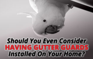 Should You Even Consider Having Gutter Guards Installed On Your Home?